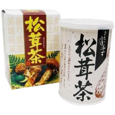 【送料無料】【取り寄せ】 マン・ネン 松茸茶(カートン) 80g×60個セット 0007011【代引き不可】