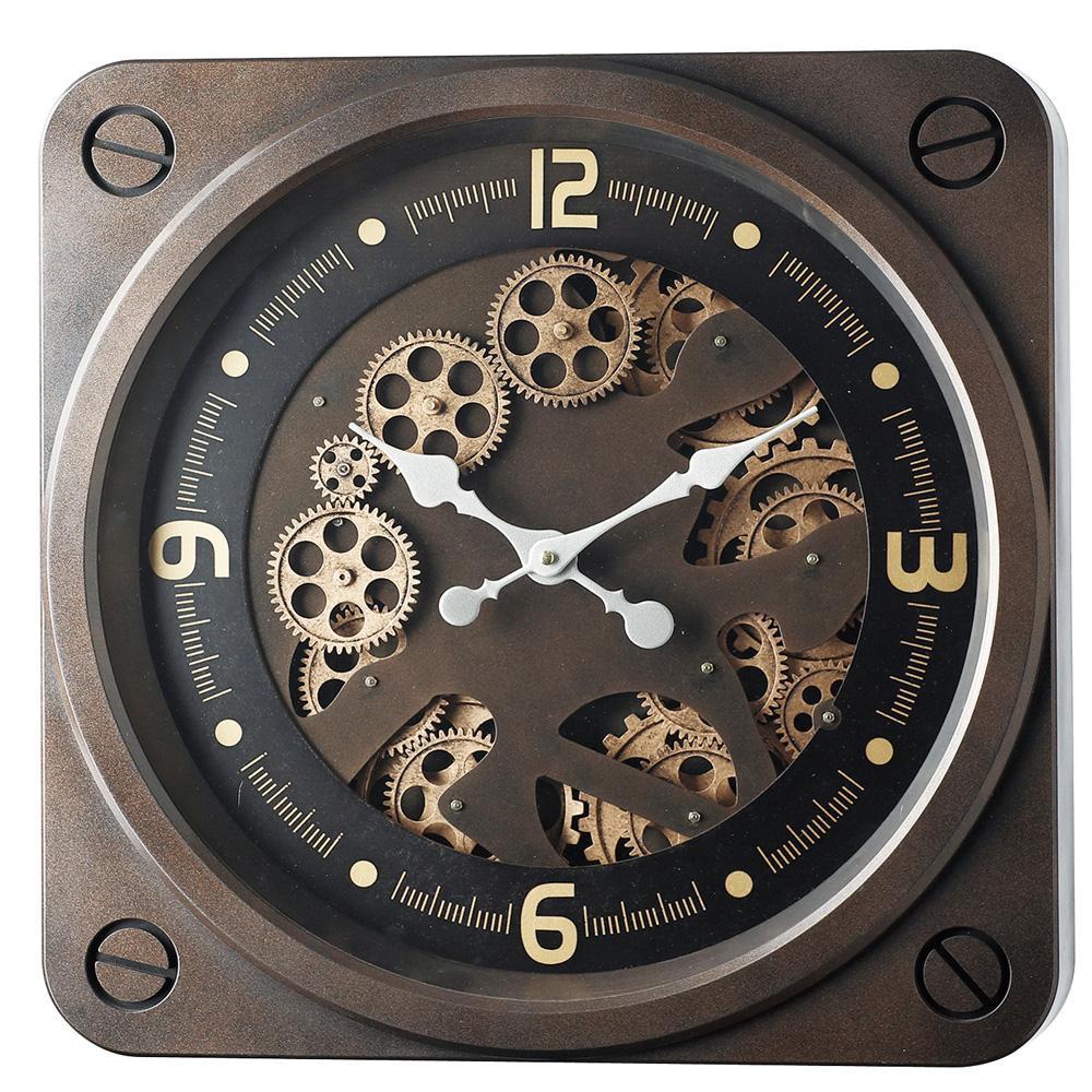 【取り寄せ・同梱注文不可】 Gear Clock 50304【新生活】 【引越し】【花粉症】
