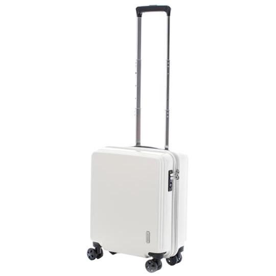 送料別 【取り寄せ】 協和 ACTUS(アクタス) 機内持込対応 スーツケース アクタス100 コインロッカーサイズ ACT-001 オフホワイト・74-20234【代引き不可】