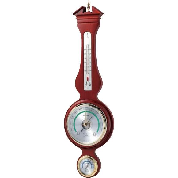 【取り寄せ・同梱注文不可】 EMPEX(エンペックス気象計) ウェザークイーン気象計 気圧・温度・湿度 BM-700【代引き不可】【thxgd_18】