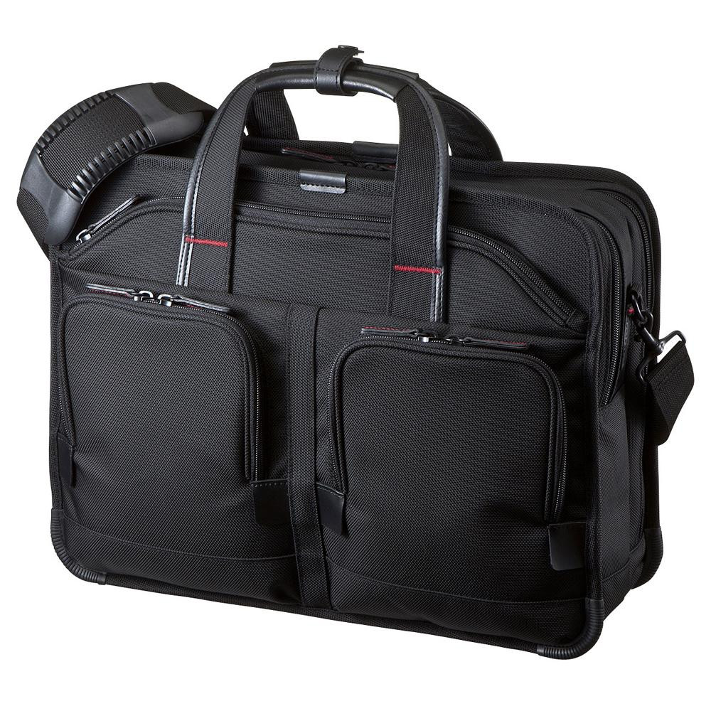【送料無料】【取り寄せ】 サンワサプライ エグゼクティブビジネスバッグPRO ダブル BAG-EXE8【代引き不可】