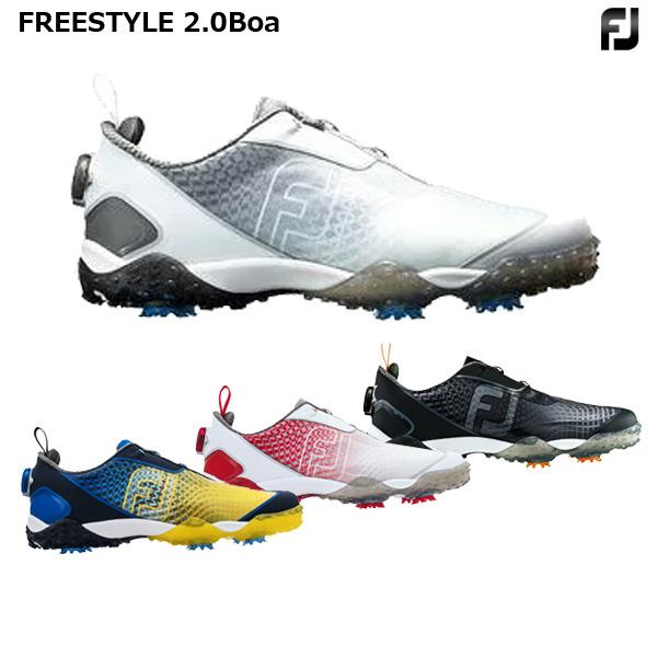 【営業日即日発送】フットジョイフリースタイル2.0 メンズゴルフシューズ2018年モデル【FREESTYLE2】【ボア】【BOA】 [FootJoy]【ゴルフシューズ】【FJ】【ASU】