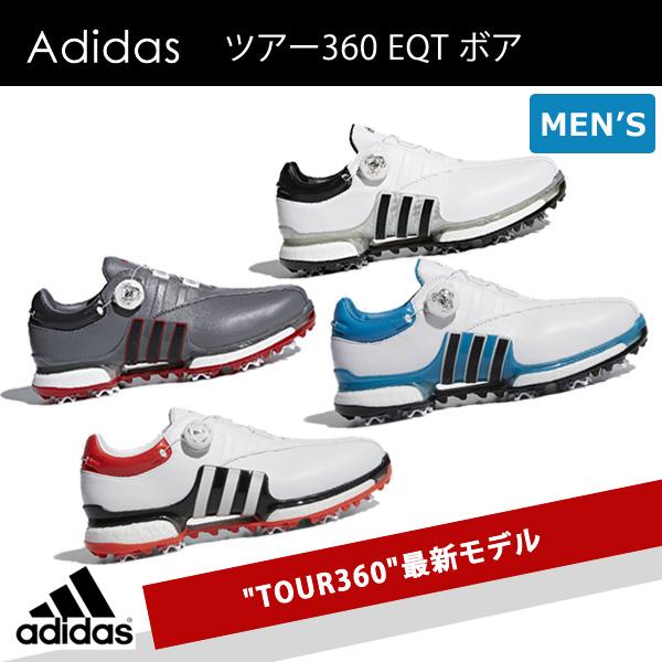 B-KENKOU GOLF  Adidas tour 360 EQT boa golf shoes 2018  Adidas ... e8c1f62ac