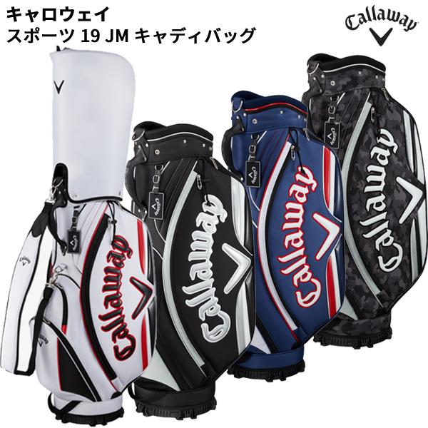 (営業日即日発送)【ネーム刻印無料】Callaway/キャロウェイゴルフ スポーツ 19 JM キャディバッグ メンズ [9.0型(47インチ対応) 3.1kg]【ASU】