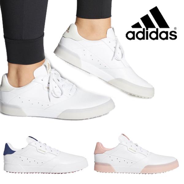 【ガチ得クーポン発行中】 (営業日即日発送)アディダス adidas ウィメンズ アディクロス レトロ ADICROSS RETRO レディース ゴルフシューズ 2020年モデル (即納)【ASU】