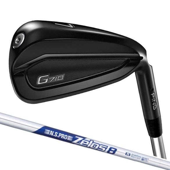 ( 特注 / 納期8~12週) ピン G710 アイアン 単品販売 N.S.PRO ゼロス 8 スチールシャフト ゴルフクラブ