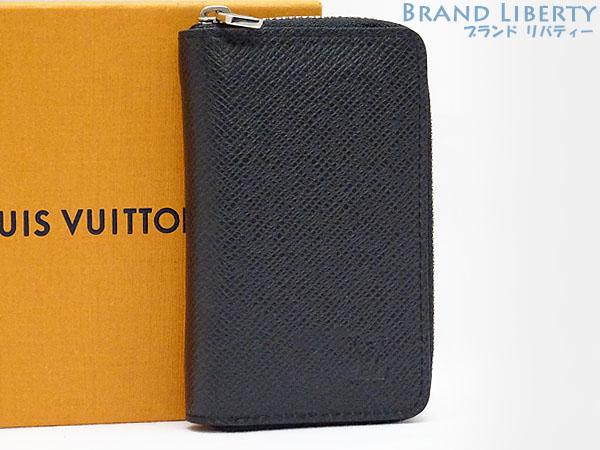 最低価格の 【新古品】ルイヴィトン LOUISVUITTON タイガ ジッピー コイン パース カードケース 名刺入れ コインケース 小銭入れ コンパクト財布 ノワール(ブラック) M30511, エスディーシー b9cfc032