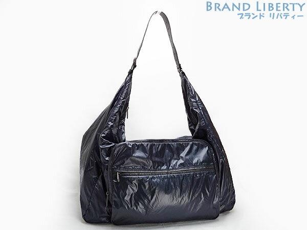 2eb03eab63f Take ボッテガヴェネタ BOTTEGA VENETA spinnaker nylon crossbody bag slant  shoulder  bag messenger bag traveling bag travel bag navy X black nylon X leather ...