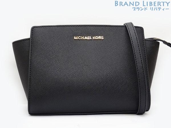 Take Michael Kors Selma Medium Messenger Bag Slant Shoulder Pochette Black 30t3glmm2l