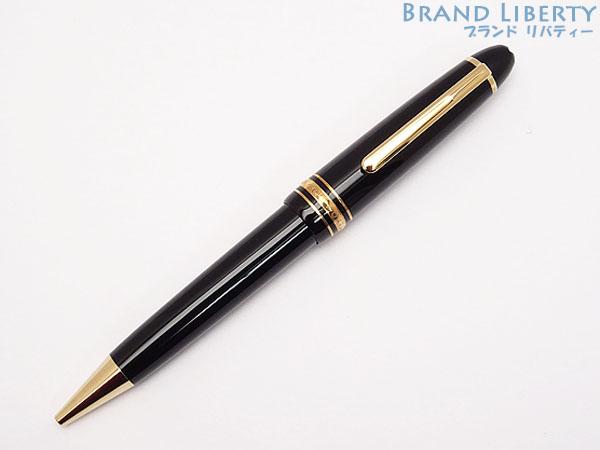 【新品同様】モンブラン MONT BLANC マイスターシュテュック ル・グラン ツイスト式 ボールペン 161 ブラック×ゴールド 10456 【中古】