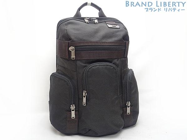 【未使用】トゥミ TUMI Wallingford Triple Pocket Backpack ウォリングフォード トリプルポケット バックパック リュックサック ブラック ナイロン 69383HKO 【中古】