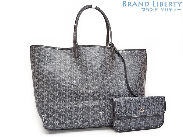 ゴヤール Goyard St Louise Pm Tote Bag Shoulder Gris Gray Amalouis Pm51