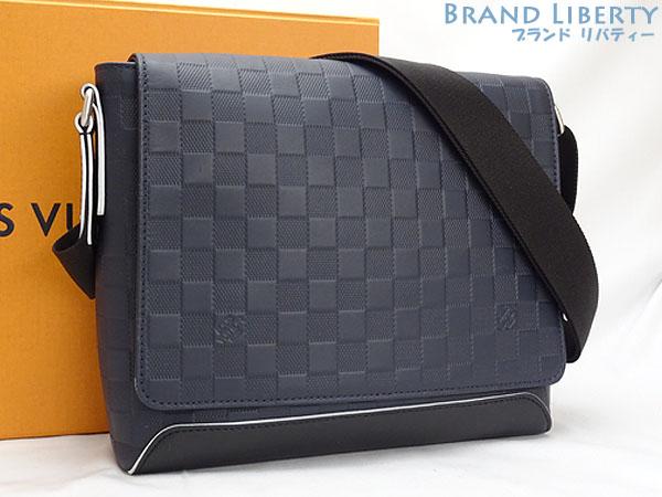 190237cc Take Louis Vuitton LOUISVUITTON ダミエアンフィニディストリクト PM NM slant; shoulder bag  messenger bag astral white N42438