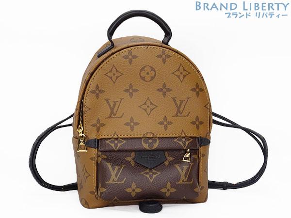 40dc07be32 Louis Vuitton LOUISVUITTON monogram reverse Palm Springs backpack MINI mini  ruck case shoulder bag shoulder porch M42411