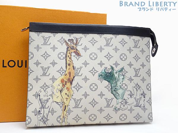 95ba15bf0b Louis Vuitton LOUISVUITTON モノグラムサバンナポシェットヴォワヤージュ GM Chapman Brothers second  bag handbag clutch bag porch ...