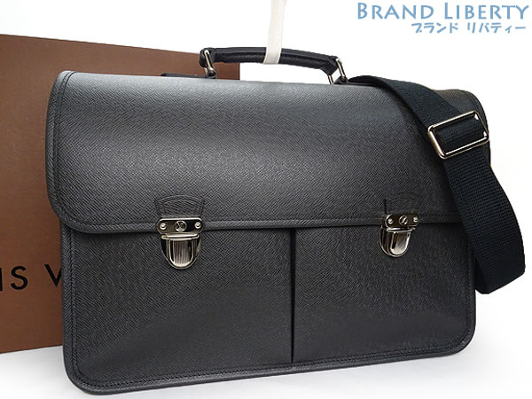 8714dc1eb9 Louis Vuitton LOUISVUITTON taiga Anton 2WAY business bag briefcase  documents カバンショルダーバッグアルドワーズブラック M32622