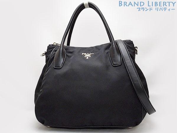 0610bc48fe2e Prada PRADA nylon 2WAY tote bag handbag shoulder bag NERO black BR4992 ...