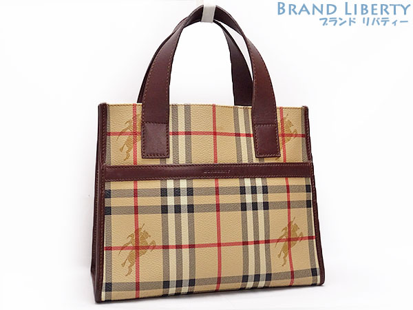 e68ba1d63d10 Product made in Burberry BERBERRY London Haymarket check tote bag handbag  Italy
