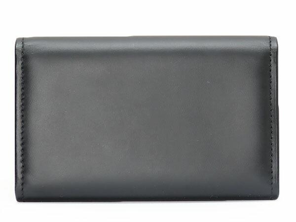 超美品 カルティエ Cartier パシャ 6連キーケース キーリング キーホルダー ブラック カーフレザー L3000127vgf6yYb7