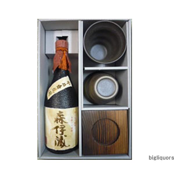 森伊蔵金ラベルカップ付焼酎セット酔々工房【□】