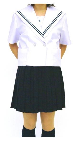 【別注/大きいサイズ】夏セーラー服 上着のみ ~175cm 白衿3色3本線【半袖 上着のみ】 ~175cm【国内縫製】【日本製】【受注生産】オーダーセーラー承ります, 北見市:2c54d38b --- officewill.xsrv.jp