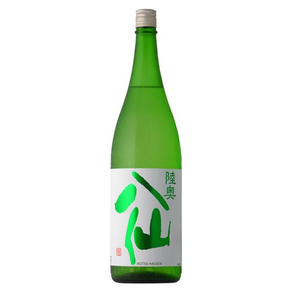 華やかな香り 優しく滑らかな味わい 陸奥八仙 緑ラベル 特別純米 ついに再販開始 八戸酒造 青森県 冷蔵推奨 1800ml 賜物 日本酒
