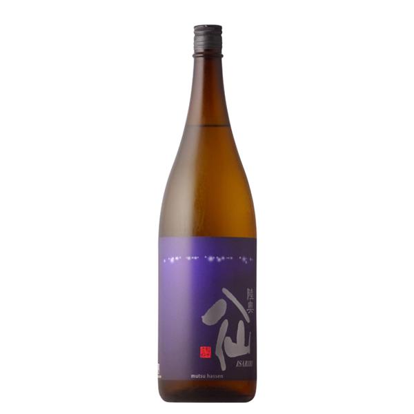 魚介類に合うお酒をコンセプトに造られた純米酒です 陸奥八仙 いさり火 特別純米 1800ml 冷蔵推奨 日本酒 人気 八戸酒造 10%OFF 青森県