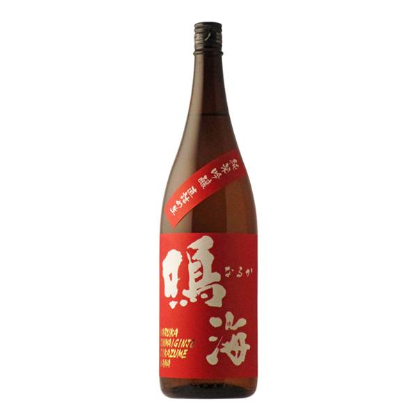 フレッシュで綺麗な味わい SEAL限定商品 鳴海 赤ラベル セール特価 R2BY 純米吟醸直詰め生 日本酒 千葉県 1800ml 要冷蔵商品 東灘醸造