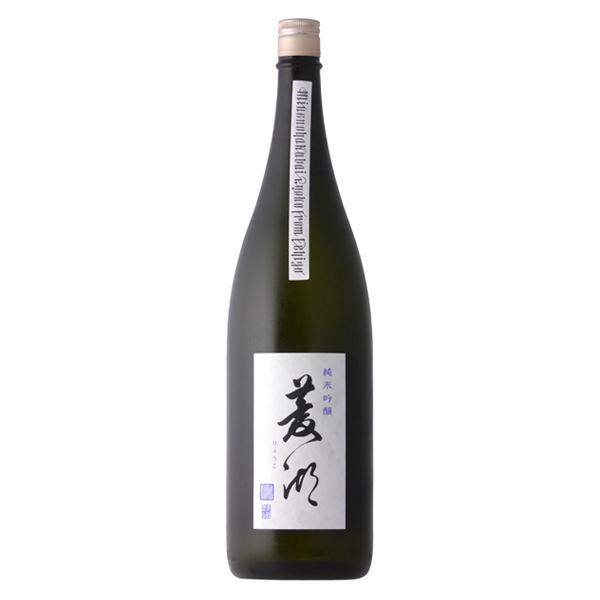 優しく滑らかな味わい 菱湖 りょうこ 純米吟醸 贈物 1800ml 日本酒 新潟県 峰乃白梅酒造 人気急上昇 冷蔵推奨