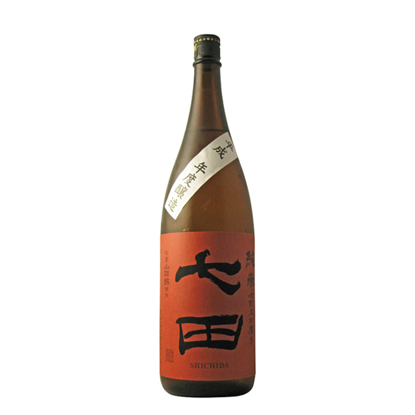 常温 ぬる燗にする事でさらに旨くなる純米酒です 七田 七割五分磨き 純米 山田錦 天山酒造 高額売筋 人気ブランド 1800ml 佐賀県 日本酒