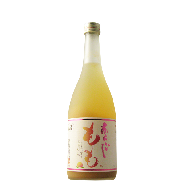 受賞店 誕生日/お祝い 果実感のあるトロリとした飲み口 梅乃宿 あらごしもも酒 720ml 奈良県 梅乃宿酒造