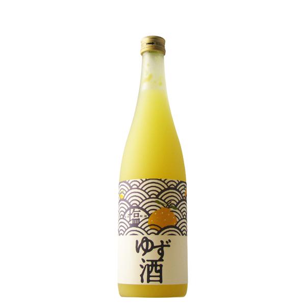 塩を入れる事で美味しさパワーアップ 新品 塩ゆず酒 720ml 新品 滋賀県 北島酒造