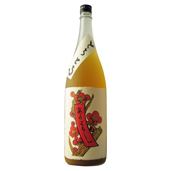 完熟梅を使用して造られた人気のにごり梅酒 大幅にプライスダウン とろとろの梅酒 1800ml 梅酒 新作 大人気 奈良県 八木酒造