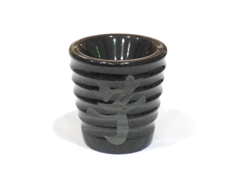 インド産黒御影石 芋焼酎オブジェ