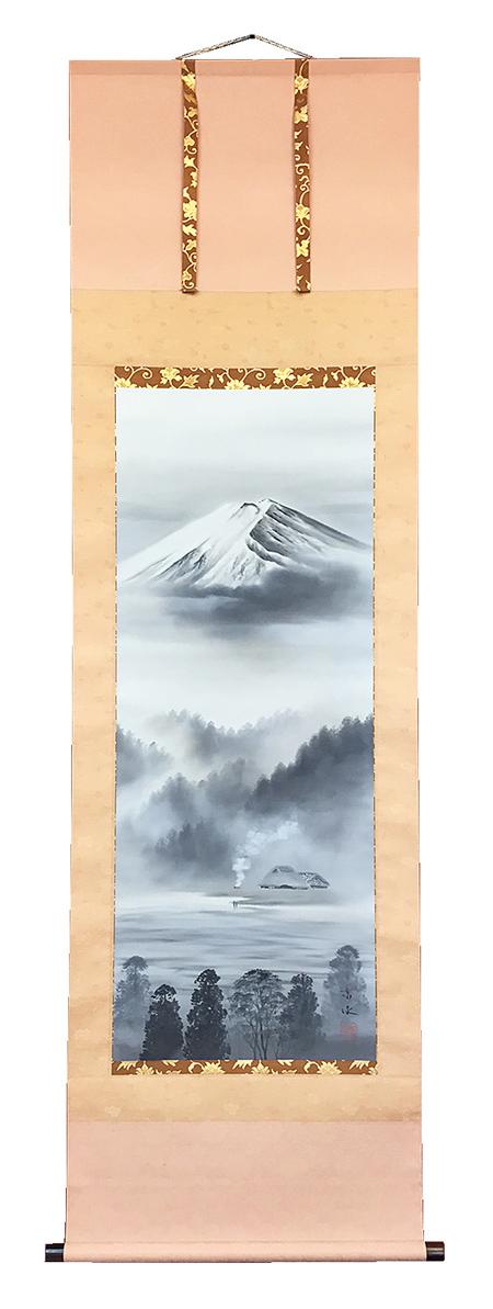 床用掛軸 富峰 堀江京泉 尺5立【国内送料無料】