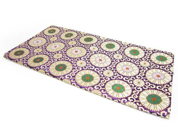 床用打敷(梵天 赤紫)3尺用 紫【錦】〔ご法事必需品〕