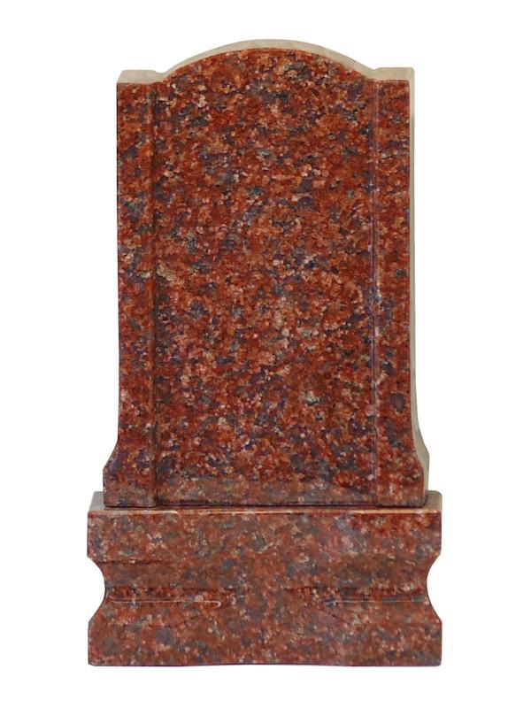 石製お位牌 4型 インド赤 ファッション通販 当店一番人気 御影石
