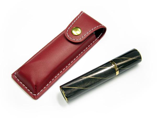 [手元供養]携帯型ミニ骨壷 ポケット モスグリーン