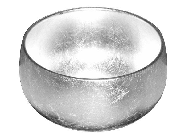 [おりん]ウェーブ瑞竜 シルバー 銀箔押 3.2寸【国内送料無料】