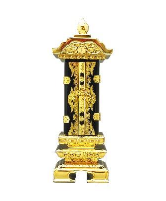 ◆繰出位牌◆【送料無料】塗り位牌 『前金二重回出』 3.5寸