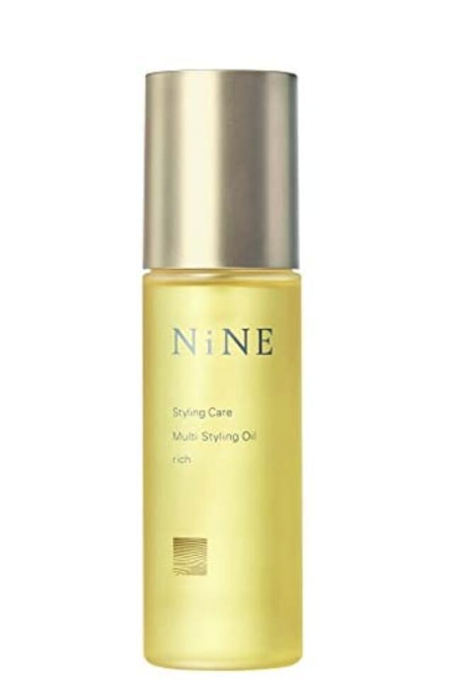 植物オイル特有の油臭さが少なく 指通りのよさにこだわりぬいたスタイリングオイルです 定番の人気シリーズPOINT(ポイント)入荷 国産品 NiNE 100ml マルチスタイリングオイルリッチ
