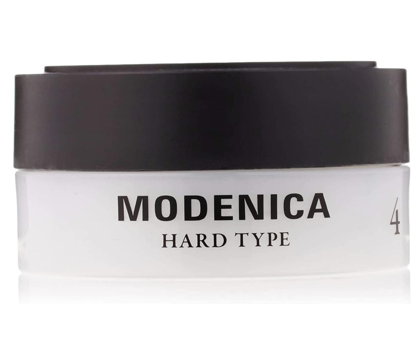 軽さのあるヘアスタイルをキープできるハードタイプのワックスです モデニカ 日本産 ワックス4 60g お金を節約 3個セット