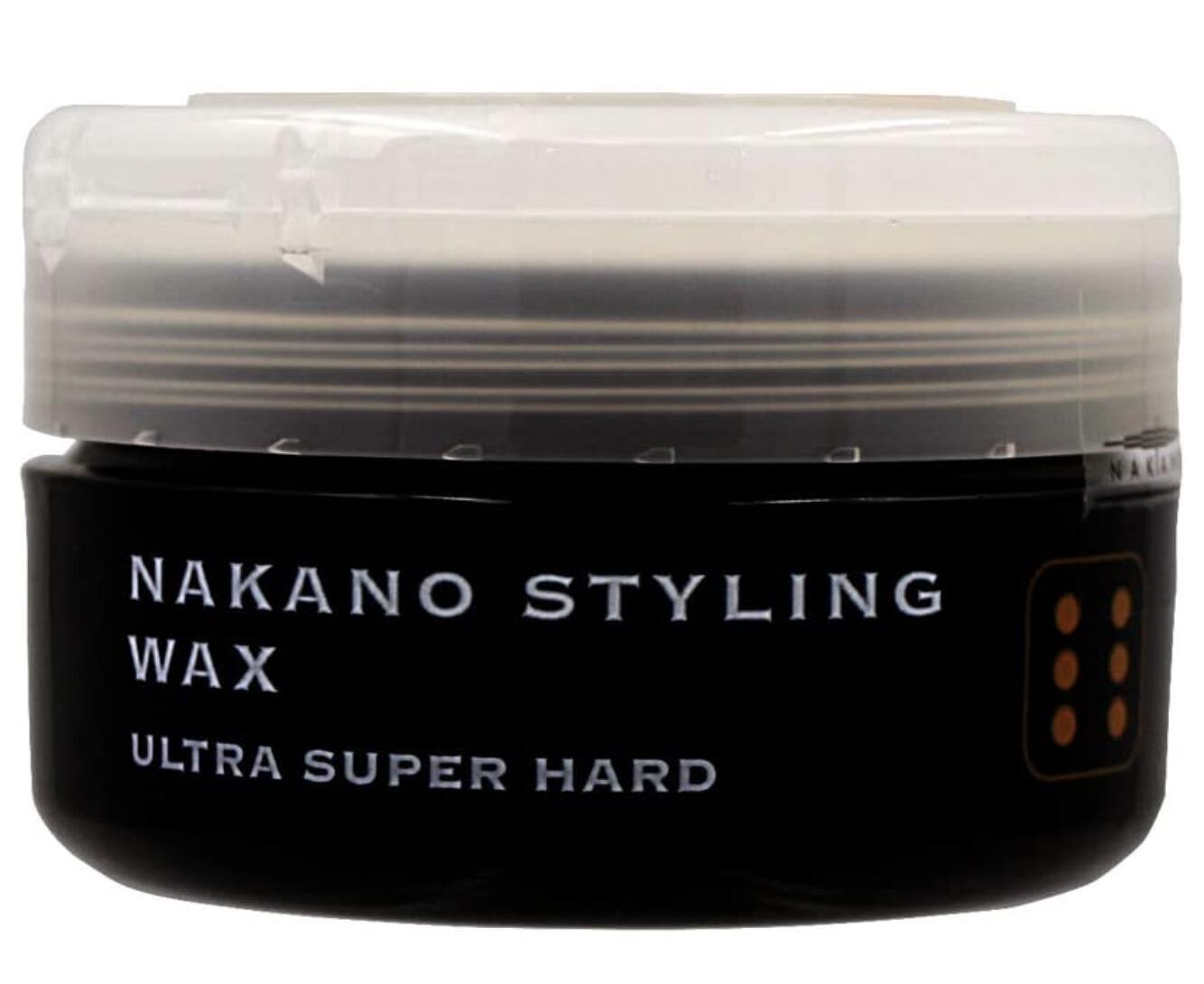 ヘアカラーの退色を防止し 贈り物 超ハードなホールド力で 毛束感をそのままキープ出来るウルトラスーパーハードワックスです ナカノ スタイリングワックス 3個セット ウルトラスーパーハード6#160;90g 信憑