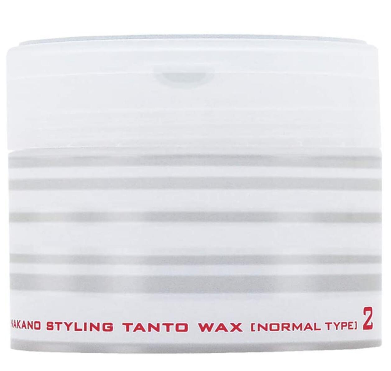ナチュラルな毛先の動きと毛束感を演出するヘアワックス ナカノ 限定特価 スタイリング タント 2個セット トラスト ワックスN?ノーマルタイプ2?90g