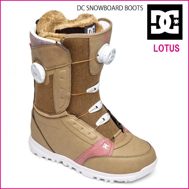 正規品 DC SHOES LOTUS ディーシースノーボード ブーツ DC snowboardboots レディス用ブーツ・ウィメンズ用ブーツdouble BOA BOOTS ダブルボアシステム KLP