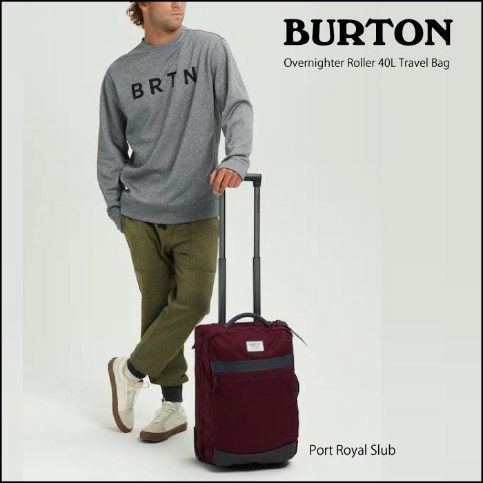 【BURTON bag】バートン バッグ Overnighter Roller 容量:40L Travel Bag 116041 キャリーバッグ