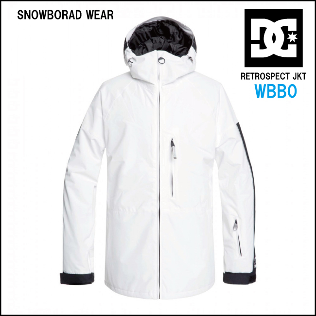 【50%OFF】スノーボード ウェア DC snowboardwear jacketディーシーウエアジャケット snowboard wear 【RETROSPECT JKT】WBB0