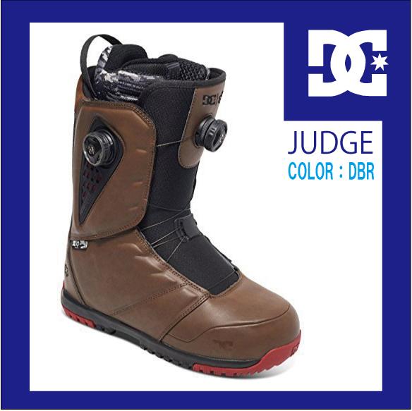 17 正規品 DC SHOES JUDGE K ディーシー ジャッジ スノーボード ブーツ SNOWBOARD double BOA BOOTS ダブルボアシステム DBR