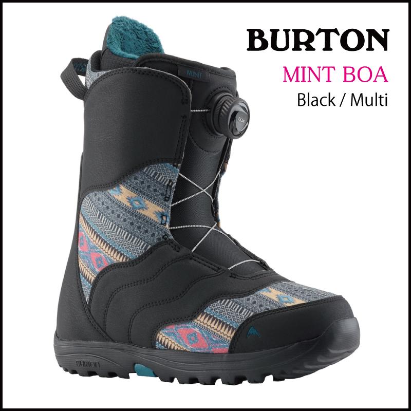 【送料無料】19 スノーボード ブーツ 【バートン】BURTON MINT - Black/Multi