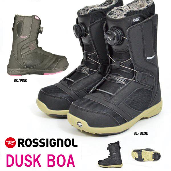 スノーボードブーツ ROSSIGNOL/ロシニョール DUSK BOAsystem18-19モデル